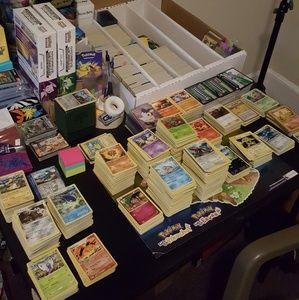 Huge Pokemon Card Lot